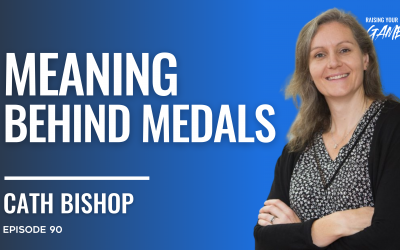 #90 – Cath Bishop | Meaning behind Medals